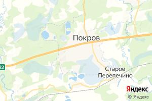 Карта г. Покров