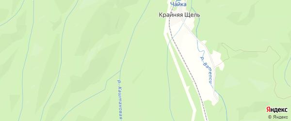 Территория днт Авангард на карте Майкопа с номерами домов