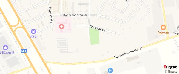 Степная улица на карте Адыгейска с номерами домов