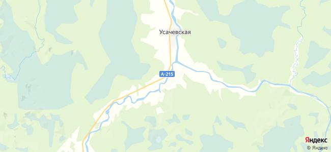 Ореховская на карте