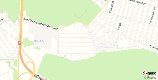 Карта территории СП ПГСК Политехник в Воронеже с улицами, домами и почтовыми отделениями со спутника онлайн