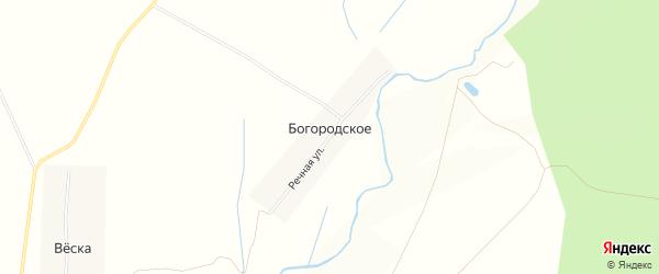 Карта территории Сельхоз земля Богородское в Ярославская области с улицами и номерами домов