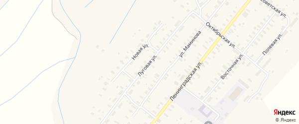 Луговая улица на карте села Конево с номерами домов