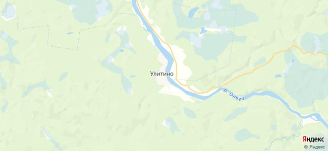 Улитино на карте