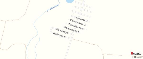 Яблоневая улица на карте Кавказа Адыгеи с номерами домов