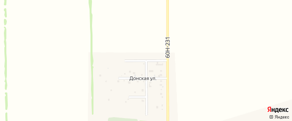Спортивная улица на карте хутора Недвиговки Ростовской области с номерами домов