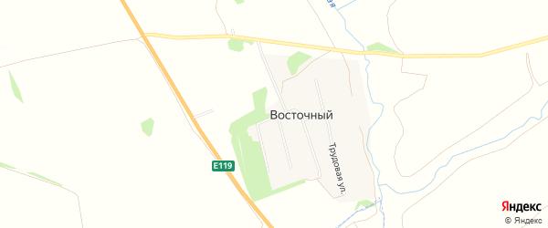 Карта Восточного поселка в Рязанской области с улицами и номерами домов