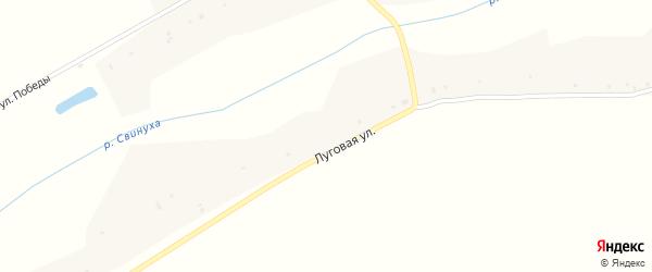Вишневая улица на карте села Екатериновки Воронежской области с номерами домов