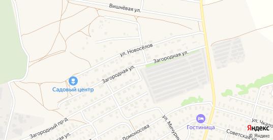 Загородная улица в Кольчугино с номерами домов на карте. Спутник и схема онлайн