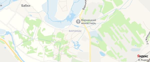 Карта поселка Варницы города Ростова в Ярославская области с улицами и номерами домов