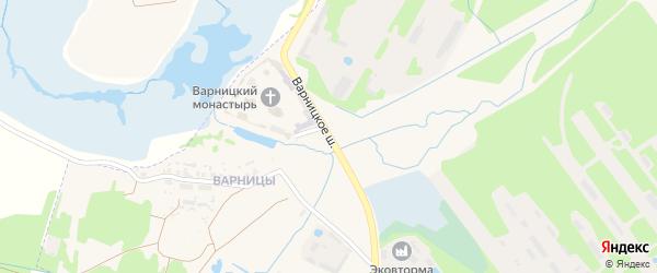 Варницкое шоссе на карте Ростова с номерами домов