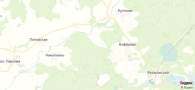 Анненка на карте
