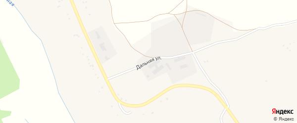 Дальняя улица на карте села Александровки Воронежской области с номерами домов