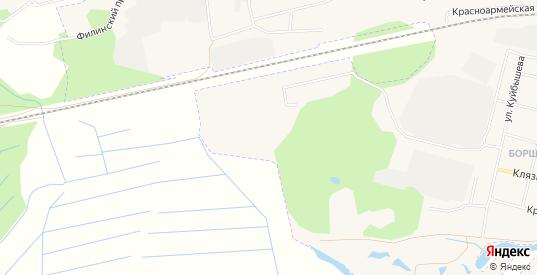 СТ Красная горка на карте Петушков с номерами домов