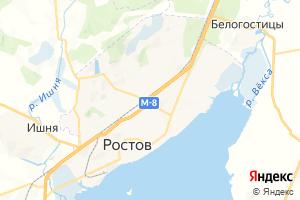 Карта г. Ростов Ярославская область