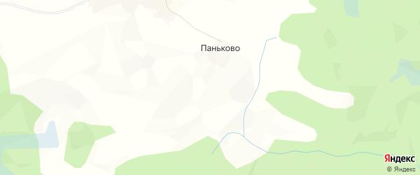 Карта Вражной деревни в Вологодской области с улицами и номерами домов
