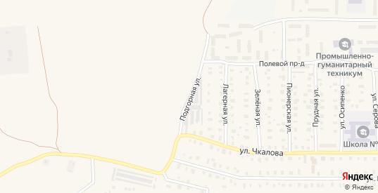 Подгорная улица в Петушках с номерами домов на карте. Спутник и схема онлайн