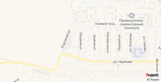 Лагерная улица в Петушках с номерами домов на карте. Спутник и схема онлайн
