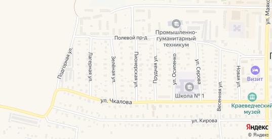 Пионерская улица в Петушках с номерами домов на карте. Спутник и схема онлайн