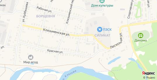 Заводской проезд в Петушках с номерами домов на карте. Спутник и схема онлайн