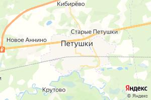 Карта г. Петушки Владимирская область