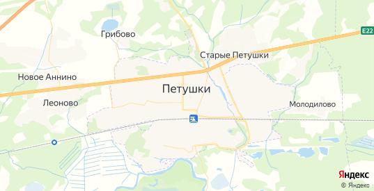 Карта Петушков с улицами и домами подробная. Показать со спутника номера домов онлайн