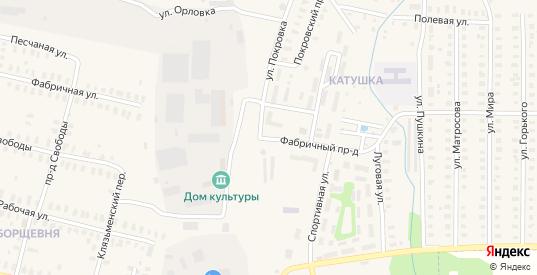 Улица Покровка в Петушках с номерами домов на карте. Спутник и схема онлайн
