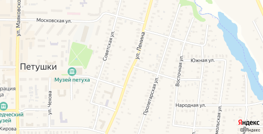 Улица Ленина в Петушках с номерами домов на карте. Спутник и схема онлайн