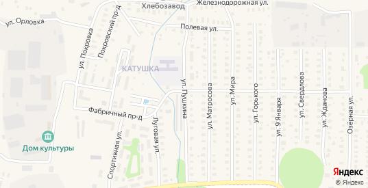 Улица Пушкина в Петушках с номерами домов на карте. Спутник и схема онлайн