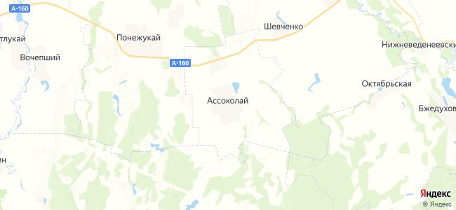 Ассоколай на карте