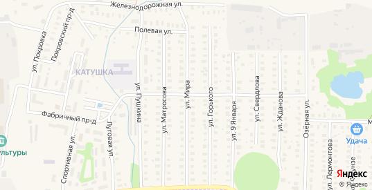 Улица Мира в Петушках с номерами домов на карте. Спутник и схема онлайн