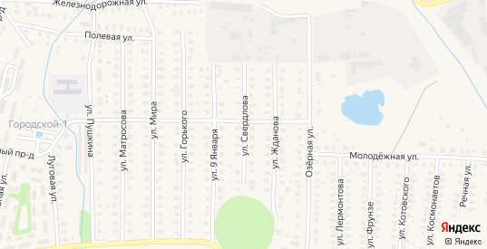 Улица Свердлова в Петушках с номерами домов на карте. Спутник и схема онлайн