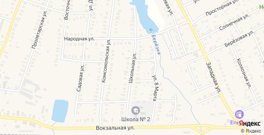 Школьная улица в Петушках с номерами домов на карте. Спутник и схема онлайн