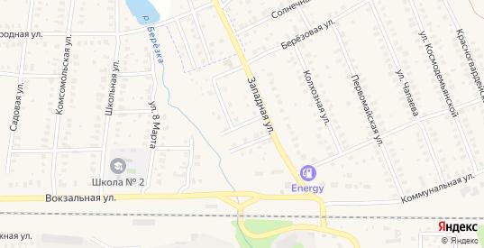 Улица Народного ополчения в Петушках с номерами домов на карте. Спутник и схема онлайн