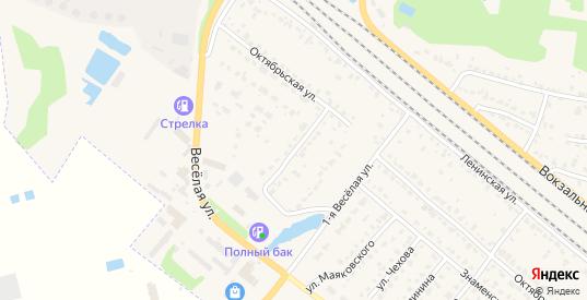 Веселая 2-я улица в Рыбном с номерами домов на карте. Спутник и схема онлайн