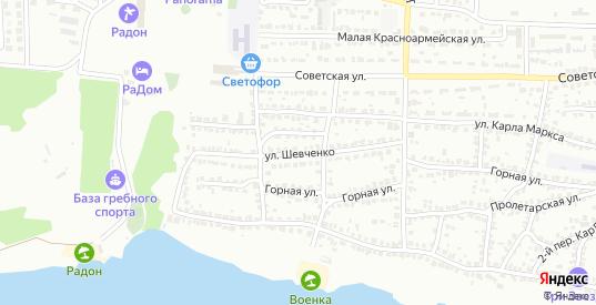 Улица Шевченко в Лисках с номерами домов на карте. Спутник и схема онлайн