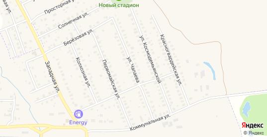 Улица Чапаева в Петушках с номерами домов на карте. Спутник и схема онлайн