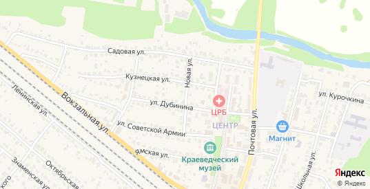Новая улица в Рыбном с номерами домов на карте. Спутник и схема онлайн