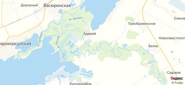 Чумаков на карте