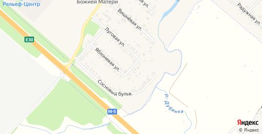 Васильковый переулок в Рыбном с номерами домов на карте. Спутник и схема онлайн