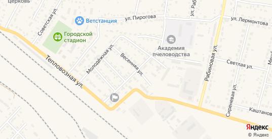 Электротяговая улица в Рыбном с номерами домов на карте. Спутник и схема онлайн