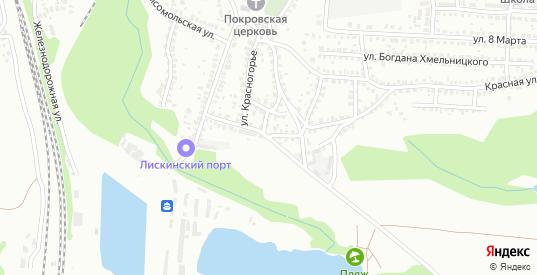 Пионерская улица в Лисках с номерами домов на карте. Спутник и схема онлайн