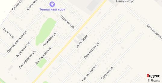Улица Победы в Рыбном с номерами домов на карте. Спутник и схема онлайн