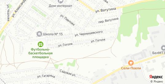 Улица Гоголя в Лисках с номерами домов на карте. Спутник и схема онлайн