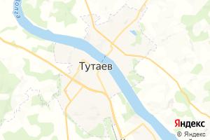 Карта г. Тутаев Ярославская область
