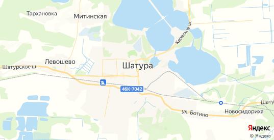 Карта Шатуры с улицами и домами подробная. Показать со спутника номера домов онлайн