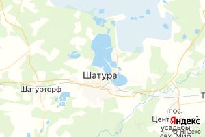Карта г. Шатура Московская область