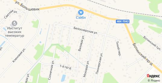 Валовая улица в Шатуре с номерами домов на карте. Спутник и схема онлайн