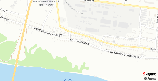 Улица Некрасова в Лисках с номерами домов на карте. Спутник и схема онлайн