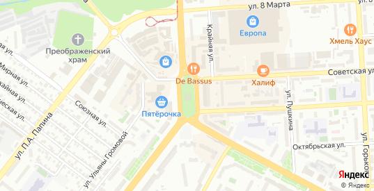 Площадь Победы в Липецке с номерами домов на карте. Спутник и схема онлайн